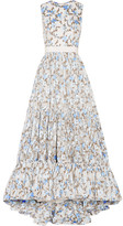 Alexander McQueen Floral-jacquard Gown - IT40