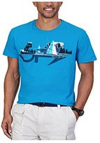 Nautica Men's Yacht in the City Graphic T-Shirt