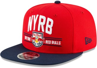 New Era New York Red Bulls Satin Two-Tone 9FIFTY Snapback Adjustable Hat - Red/Navy