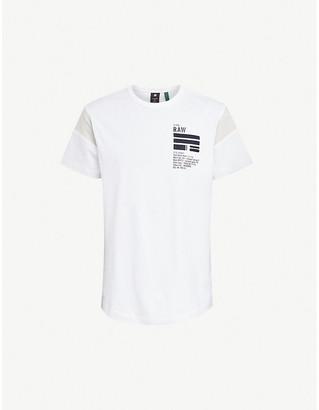 G Star Logo-print cotton-jersey T-shirt