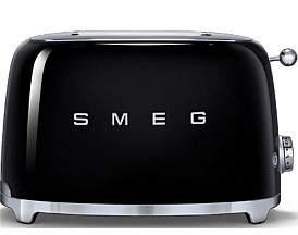 Smeg Tsf01Blau - 2 Slice Toaster Black