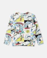 Stella McCartney biz all-over print sweater
