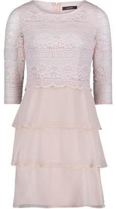 Vera Mont Lace And Chiffon Dress