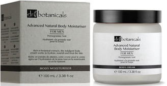 Dr Botanicals Pomegranate Noir Advanced Natural Body Moisturiser For Men 100ml