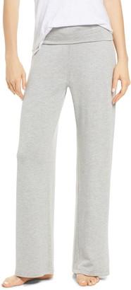 Socialite Foldover Wide Leg Lounge Pants