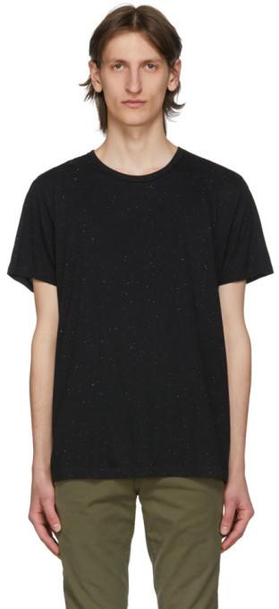 New Rag /& Bone Black Classic Base Basic Tee Short Sleeve Tee T-Shirt XL