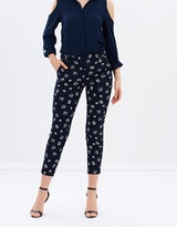 Dorothy Perkins Stencil Floral Pique Trousers