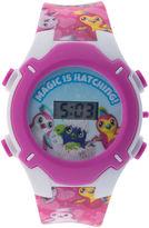 HATCHIMALS Hatchimals Girls Multicolor Strap Watch-Hatkd16008