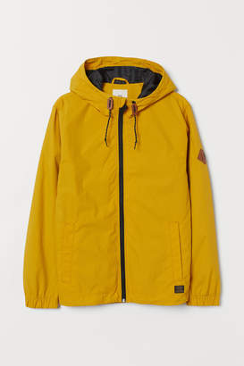 H&M Nylon Windbreaker - Yellow