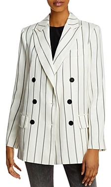 Anine Bing Ryan Double-Breasted Blazer