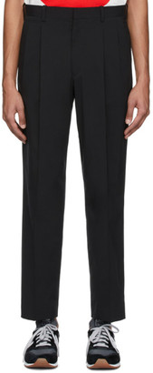 N.Hoolywood Black Pleated Trousers