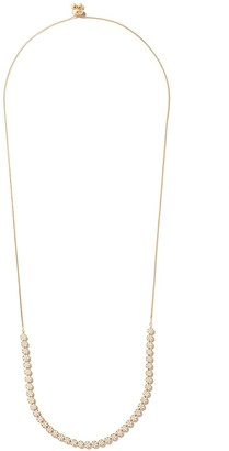 As 29 18k yellow gold diamond Indiana choker necklace