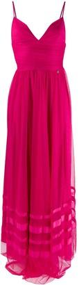 Liu Jo Plunge Maxi Dress