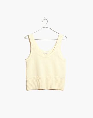 Madewell Minton Scoop Sweater Tank