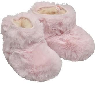 UGG Baby Girls Jesse Bow II Fluff Booties Baby Pink