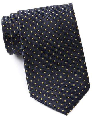 Tommy Hilfiger Virginia Dot Xtra Long Silk Tie