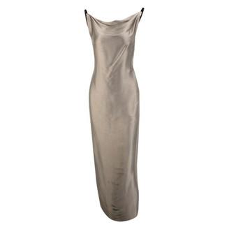 STEPHAN JANSON Brown Silk Dress for Women