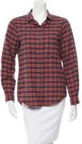 6397 Plaid Flannel Top