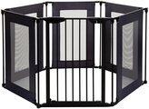 Dream Baby Dreambaby Brooklyn Converta 6-Panel Playpen & Wide Barrier Gate - Black - One Size