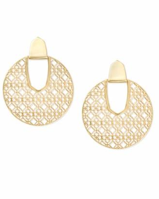 Kendra Scott Diane Statement Earrings in Filigree