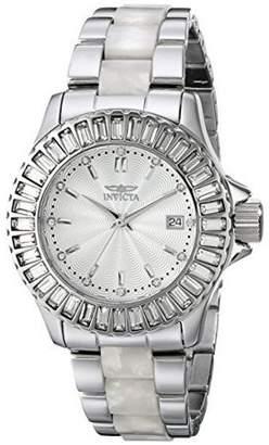 Invicta Women's Angel 18874 Silver Stainless-Steel Swiss Quartz Fashion Watch