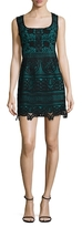 Nanette Lepore Viva Italia Lace Flared Dress
