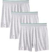 Lacoste Men's 3-Pack Essentials Cotton Knit Boxer