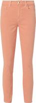L'Agence Margot Blush Velvet Pants