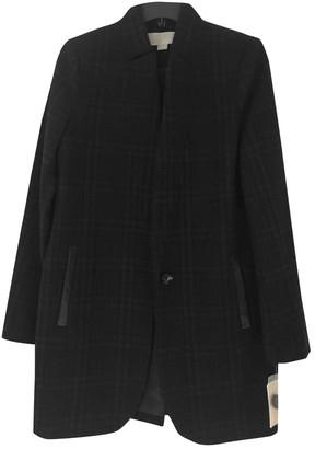 MICHAEL Michael Kors Black Wool Coat for Women