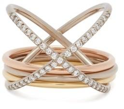 Charlotte Chesnais Fine Jewellery - Xxo Diamond & 18kt Gold Ring - Gold