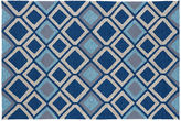 Kaleen Maria Outdoor Rug, Navy/Multi