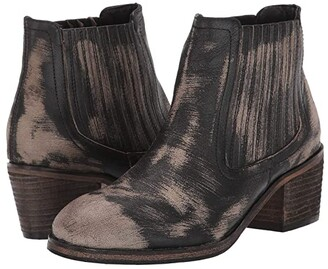 ROAN Barcelona (Black Buff Scratch) Women's Shoes