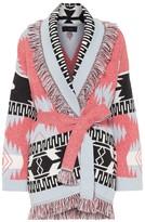 Alanui Icon cashmere-jacquard cardigan
