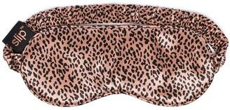Slip Leopard-Print Silk Sleep Mask