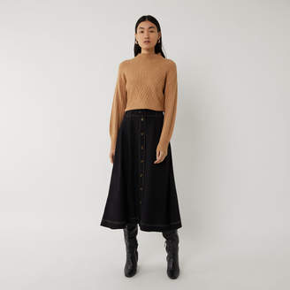 Warehouse TOPSTITCH SKIRT