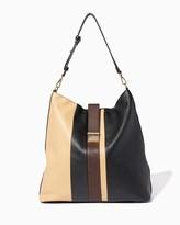 Charming charlie Striped Block Shoulder Bag