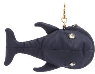 Anya Hindmarch Whale-charm Technical Tote Bag - Dark Blue