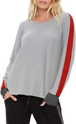 Michael Stars Kim Notch Neck Pullover