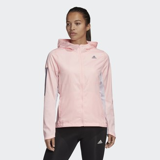 adidas Own the Run Hooded Wind Jacket