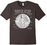 Star Wars Death Star Empire Engineering Graphic T-Shirt