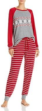 PJ Salvage Holiday Trim Pajama Set - 100% Exclusive