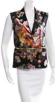 Dries Van Noten Floral Jacquard Vest