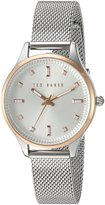 Ted Baker Women's 'Sport' Quartz Stainless Steel Dress Watch, Color:-Toned (Model: 10031190)