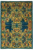 Solo Rugs Suzani Collection Oriental Rug, 5'1 x 7'6