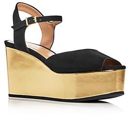 Marni Women's Platform Wedge Sandals