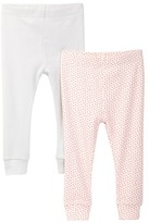 Tea Collection Cuffed Pant - Pack of 2 (Baby Girls)