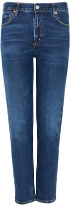Citizens of Humanity Harlow Dark Blue Slim-leg Jeans