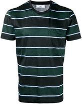 Ami Alexandre Mattiussi vertical striped T-shirt - men - Cotton - L