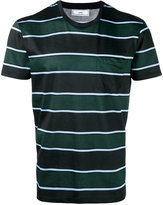 Ami Alexandre Mattiussi vertical striped T-shirt - men - Cotton - M