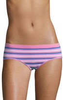 Design Lab Lord & Taylor Hipster Seamless Stripe Briefs